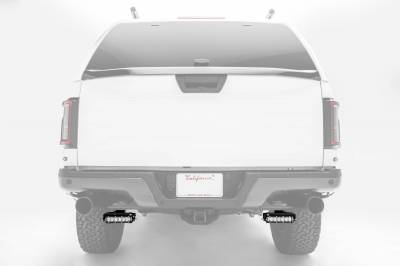 ZROADZ OFF ROAD PRODUCTS - 2018-2021 Ford Rear Bumper LED Kit with (2) 6 Inch LED Straight Single Row Slim Light Bars - PN #Z385662-KIT - Image 12