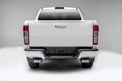ZROADZ OFF ROAD PRODUCTS - 2015-2018 Ford Ranger T6 Rear Bumper LED Kit with (2) 6 Inch LED Straight Double Row Light Bars - PN #Z385761-KIT - Image 2