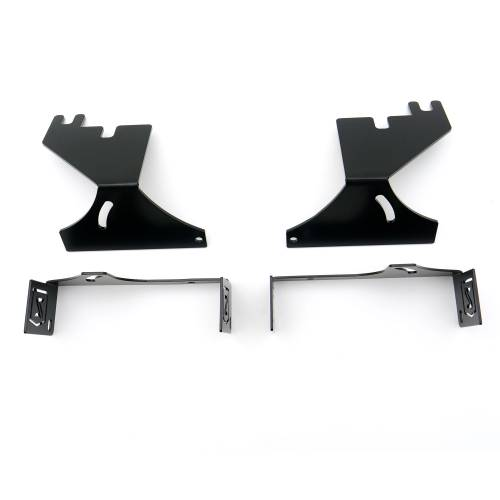 ZROADZ OFF ROAD PRODUCTS - 2017-2021 Ford Super Duty Rear Bumper LED Bracket to mount (2) 6 Inch Straight Light Bar - PN #Z385471 - Image 7