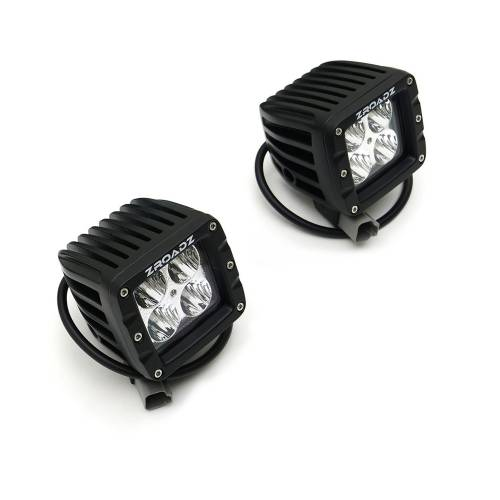 ZROADZ - Jeep JL, Gladiator A Pillar LED Kit with (2) 3 Inch LED Pod Lights - PN #Z364941-KIT2 - Image 9