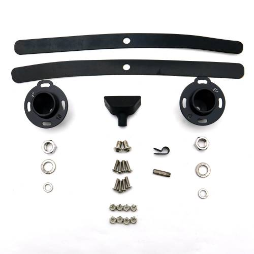 ZROADZ OFF ROAD PRODUCTS - Ford F-150, Raptor Front Roof LED Bracket to mount 52 Inch Curved LED Light Bar - PN #Z335662 - Image 18