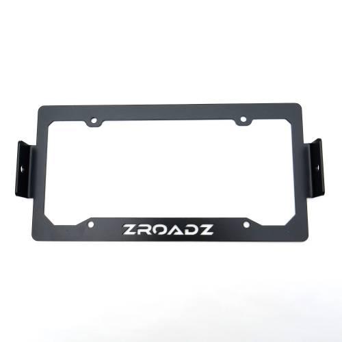 ZROADZ OFF ROAD PRODUCTS - Universal License Plate Frame LED Bracket to mount (2) 3 Inch LED Pod Lights - PN #Z310005 - Image 5