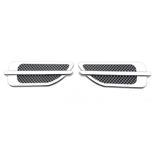 T-REX Grilles - Universal Side Vent, ABS Chrome, 1 Set Escalade style - PN #49001 - Image 2