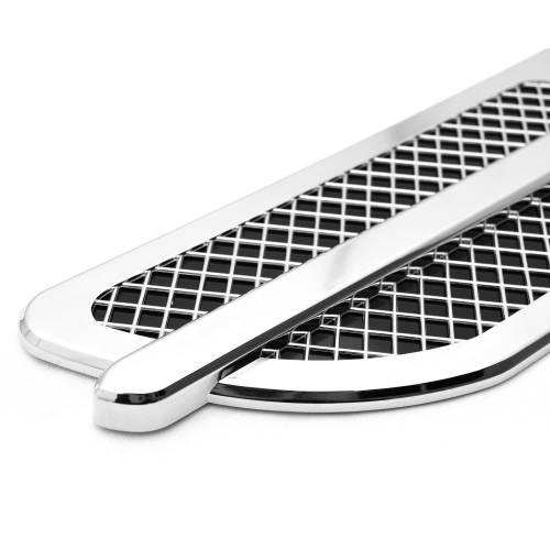 T-REX Grilles - Universal Side Vent, ABS Chrome, 1 Set Escalade style - PN #49001 - Image 3