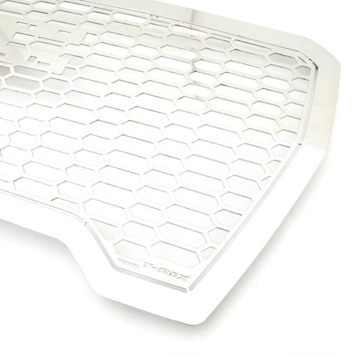 T-REX Grilles - 2019-2021 GMC Sierra 1500 Laser X Grille, Polished, Stainless Steel, 1 Pc, Insert - PN #7712280 - Image 8