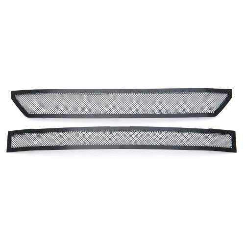 T-REX Grilles - 2016-2018 Chevrolet Silverado 1500 Z71 Upper Class Series, Powder Coated Black, 2 Pc Main Grille Insert - Fits Z71 Only - Pt # 51124 - Image 5