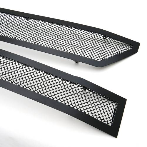 T-REX Grilles - 2016-2018 Chevrolet Silverado 1500 Z71 Upper Class Series, Powder Coated Black, 2 Pc Main Grille Insert - Fits Z71 Only - Pt # 51124 - Image 7