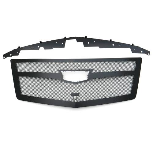 T-REX Grilles - 2015i-2020 Escalade Upper Class Series Mesh Grille, Black, 1 Pc, Replacement, Fits Vehicles with Camera - PN #51181 - Image 7