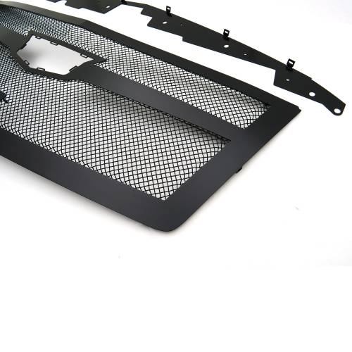 T-REX Grilles - 2015i-2020 Escalade Upper Class Series Mesh Grille, Black, 1 Pc, Replacement, Fits Vehicles with Camera - PN #51181 - Image 8