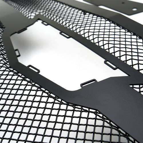 T-REX Grilles - 2015i-2020 Escalade Upper Class Series Mesh Grille, Black, 1 Pc, Replacement, Fits Vehicles with Camera - PN #51181 - Image 9