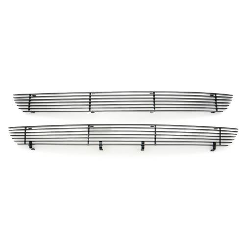 T-REX Grilles - 2018-2020 F-150 XLT, Lariat Billet Grille, Black, 2 Pc, Insert, Does Not Fit Vehicles with Camera - PN #20571B - Image 8