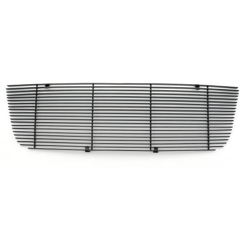 T-REX Grilles - Ford Ranger XLT / FX4 Billet Grille Insert 21 Bars Requires cutting factory bars - All Black - Pt # 20661B - Image 2