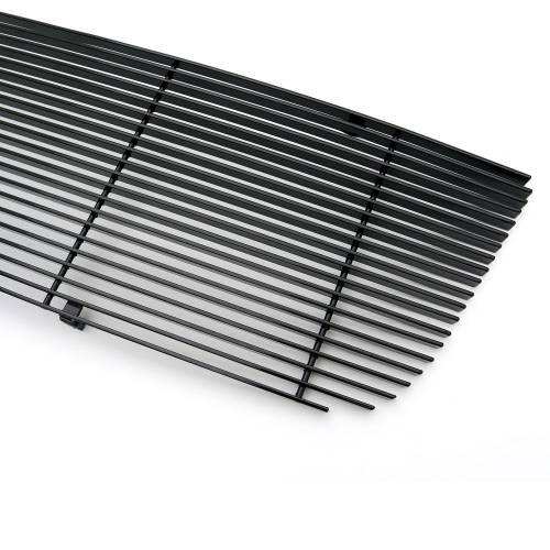 T-REX Grilles - Ford Ranger XLT / FX4 Billet Grille Insert 21 Bars Requires cutting factory bars - All Black - Pt # 20661B - Image 3