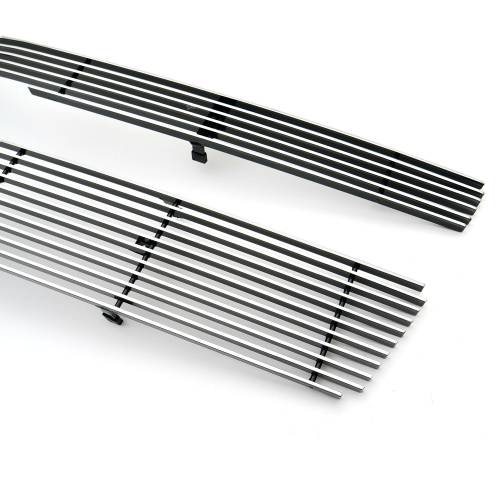 T-REX Grilles - 2007-2013 Avalanche, 07-14 Sub/Tahoe Billet Grille, Polished, 2 Pc, Overlay - PN #21051 - Image 4