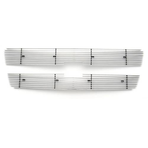 T-REX Grilles - Chevrolet Silverado, Avalanche Billet Grille, Polished, 2 Pc, Overlay/Insert - PN #21100 - Image 2
