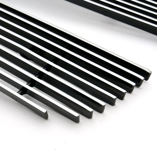 T-REX Grilles - Chevrolet Silverado, Avalanche Billet Grille, Polished, 2 Pc, Overlay/Insert - PN #21100 - Image 4