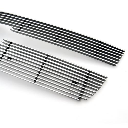 T-REX Grilles - Chevrolet Silverado Billet Grille, Polished, 2 Pc, Overlay - PN #21106 - Image 3