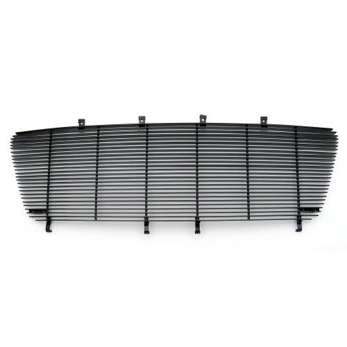 T-REX Grilles - Billet Grille Bolt On Replaces Factory Center Grille - Full Opening - Fits All Models - All Black - Pt # 21556B - Image 2