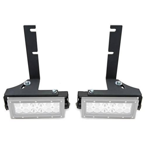 ZROADZ - 2014-2018 Silverado, Sierra 1500 Rear Bumper LED Bracket to mount (2) 6 Inch Straight Light Bar - PN #Z382082 - Image 1