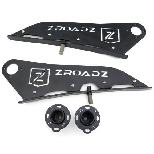 ZROADZ - 2005-2021 Toyota Tacoma Front Roof LED Bracket to mount 40 Inch Curved LED Light Bar - PN #Z339401 - Image 6