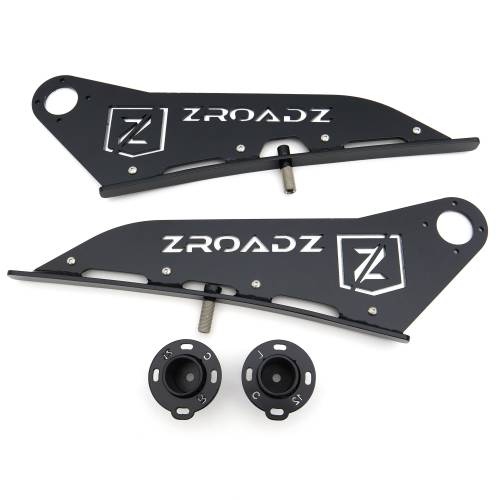 ZROADZ - 2007-2021 Toyota Tundra Front Roof LED Bracket to mount 50 Inch Curved LED Light Bar - PN #Z339641 - Image 12