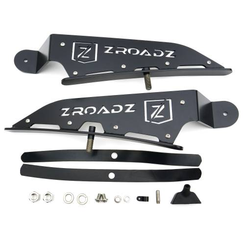 ZROADZ OFF ROAD PRODUCTS - 2015-2018 Ford Ranger T6 Front Roof LED Bracket to mount (1) 40 Inch Curved LED Light Bar - PN #Z335761 - Image 6