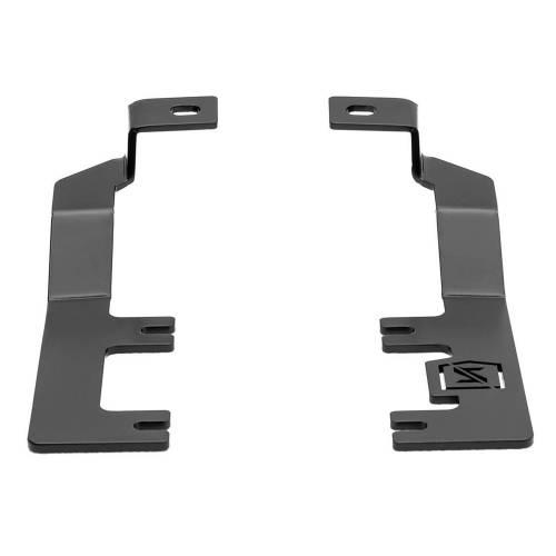ZROADZ - 2014-2018 Silverado, Sierra 1500 Hood Hinge LED Bracket to mount (2) 3 Inch LED Pod Lights - PN #Z362081 - Image 7