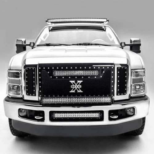 ZROADZ OFF ROAD PRODUCTS - 2008-2010 Ford Super Duty Hood Hinge LED Bracket to mount (2) 3 Inch LED Pod Lights - PN #Z365631 - Image 2