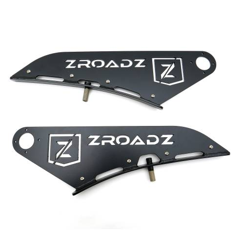 ZROADZ - Ram Front Roof LED Kit with (1) 50 Inch LED Curved Double Row Light Bar - PN #Z334521-KIT-C - Image 7