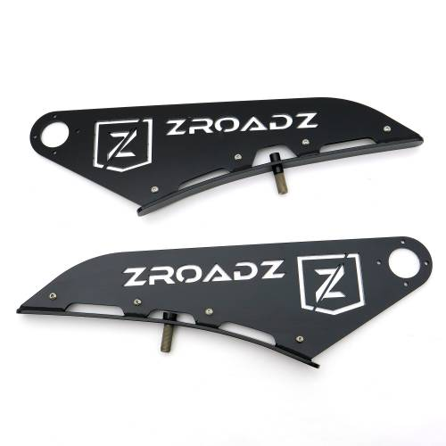 ZROADZ - 2015-2021 Ford F-150, Raptor Front Roof LED Kit with 52 Inch LED Curved Double Row Light Bar - PN #Z335662-KIT-C - Image 16