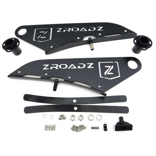ZROADZ - 2015-2021 Ford F-150 Front Roof LED Kit with 50 Inch LED Curved Double Row Light Bar - PN #Z335731-KIT-C - Image 9