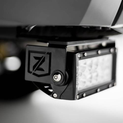 ZROADZ OFF ROAD PRODUCTS - 2014-2021 Toyota Tundra Rear Bumper LED Kit with (2) 6 Inch LED Straight Double Row Light Bars - PN #Z389641-KIT - Image 1