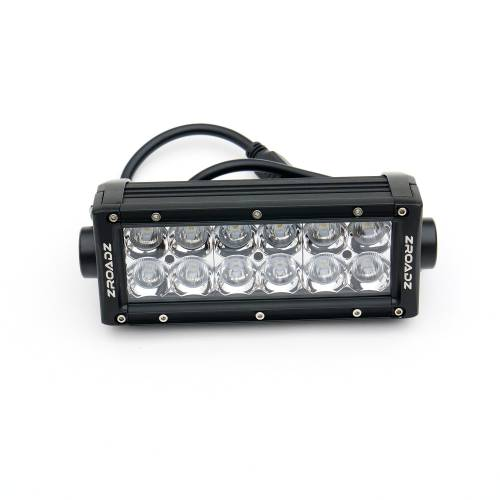 ZROADZ OFF ROAD PRODUCTS - 2014-2021 Toyota Tundra Rear Bumper LED Kit with (2) 6 Inch LED Straight Double Row Light Bars - PN #Z389641-KIT - Image 7
