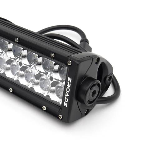 ZROADZ - 2008-2010 Ford Super Duty Front Bumper Top LED Kit with (1) 30 Inch LED Straight Double Row Light Bar - PN #Z325631-KIT - Image 7