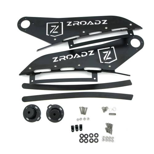 ZROADZ OFF ROAD PRODUCTS - 2016-2019 Nissan Titan Front Roof LED Bracket to mount (1) 50 Inch Staight LED Light Bar - PN #Z337181 - Image 2