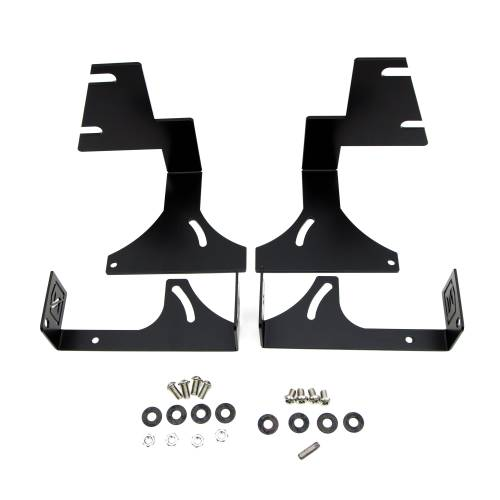 ZROADZ OFF ROAD PRODUCTS - 2015-2020 Colorado, Canyon Rear Bumper LED Bracket to mount (2) 6 Inch Straight Light Bar - PN #Z382671 - Image 2