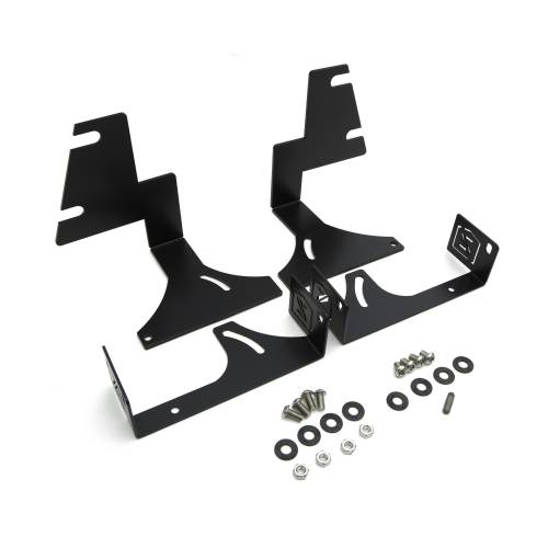 ZROADZ OFF ROAD PRODUCTS - 2015-2020 Colorado, Canyon Rear Bumper LED Bracket to mount (2) 6 Inch Straight Light Bar - PN #Z382671 - Image 3