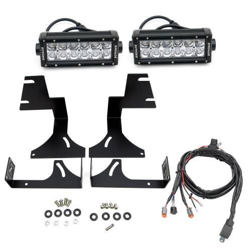 ZROADZ OFF ROAD PRODUCTS - 2015-2020 Colorado, Canyon Rear Bumper LED Kit with (2) 6 Inch LED Straight Double Row Light Bars - PN #Z382671-KIT - Image 2