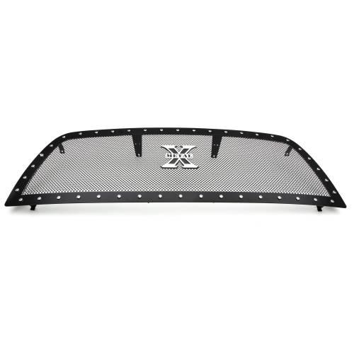 T-REX Grilles - 2013-2018 Ram 2500, 3500 X-Metal Grille, Black, 1 Pc, Replacement, Chrome Studs - PN #6714521 - Image 7