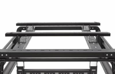ZROADZ OFF ROAD PRODUCTS - 2016-2021 Toyota Tacoma Access Overland Rack Crossbars, Black, Mild Steel, Bolt-On, 2 Pc Set with Hardware - PN #Z839011 - Image 12
