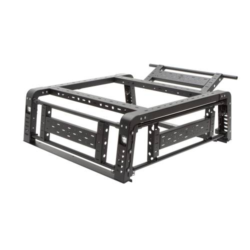 ZROADZ OFF ROAD PRODUCTS - 2019-2021 Jeep Gladiator Access Overland Rack With Three Lifting Side Gates, Without Factory Trail Rail Cargo System - PN #Z834201 - Image 29