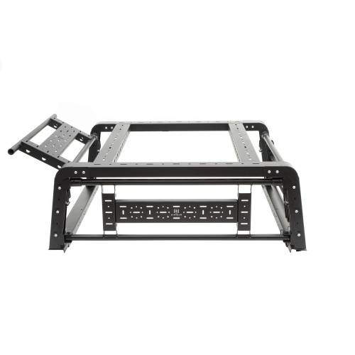 ZROADZ OFF ROAD PRODUCTS - 2019-2021 Jeep Gladiator Access Overland Rack With Three Lifting Side Gates, Without Factory Trail Rail Cargo System - PN #Z834201 - Image 30