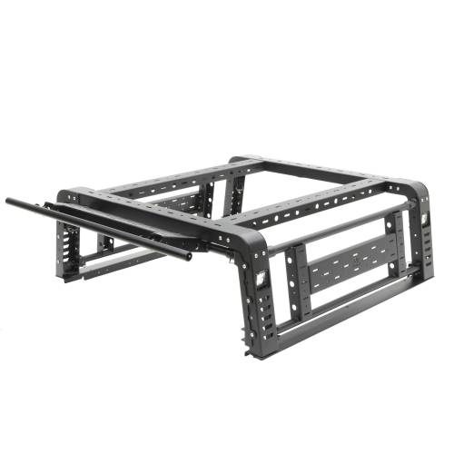ZROADZ OFF ROAD PRODUCTS - 2019-2021 Jeep Gladiator Access Overland Rack With Three Lifting Side Gates, Without Factory Trail Rail Cargo System - PN #Z834201 - Image 31