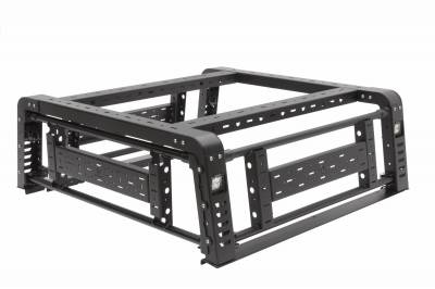 ZROADZ OFF ROAD PRODUCTS - 2019-2021 Jeep Gladiator Access Overland Rack With Three Lifting Side Gates, Without Factory Trail Rail Cargo System - PN #Z834201 - Image 34