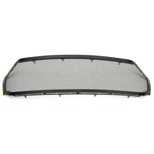T-REX Grilles - 2019-2021 Ram 1500 Laramie, Lone Star, Big Horn, Tradesman Upper Class Series Mesh Grille, Black, 1 Pc, Replacement, Does Not Fit Vehicles with Camera - PN #51465 - Image 6