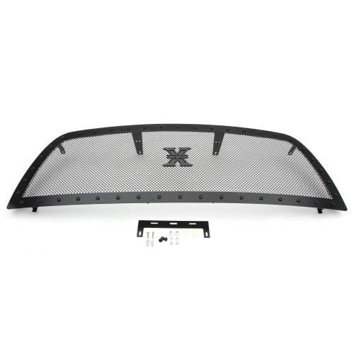 T-REX Grilles - 2013-2018 Ram 2500, 3500 Stealth X-Metal Grille, Black, 1 Pc, Replacement, Black Studs - PN #6714521-BR - Image 6