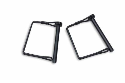 ZROADZ OFF ROAD PRODUCTS - 2019-2021 Jeep Gladiator Access Overland Rack With Two Lifting Side Gates, For use on Factory Trail Rail Cargo Systems - PN #Z834111 - Image 16