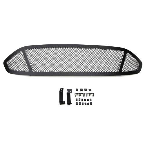T-REX Grilles - 2013-2015 Ford Fusion Upper Class Series Main Grille, Black, 1 Pc, Replacement, 3 Window Design - PN #51531 - Image 3