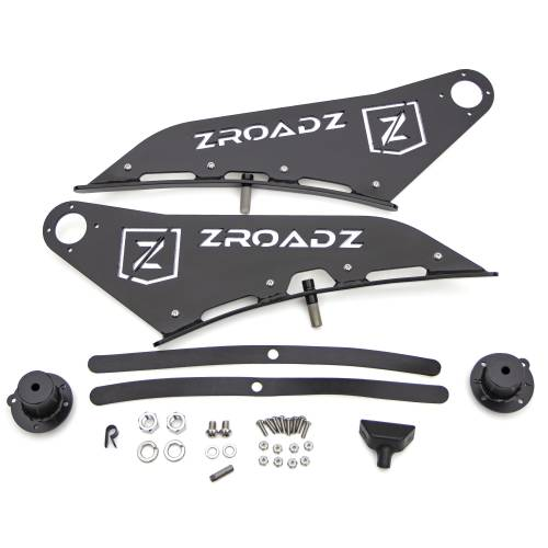 ZROADZ - Ford Front Roof LED Bracket to mount 50 Inch Curved LED Light Bar - PN #Z335721 - Image 7