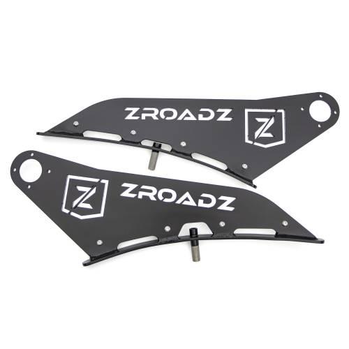 ZROADZ - Ford Front Roof LED Bracket to mount 50 Inch Curved LED Light Bar - PN #Z335721 - Image 10